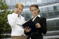 Two businesswomen Royalty Free Stock Image