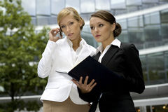 Two businesswomen Royalty Free Stock Images