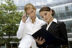 Two businesswomen Royalty Free Stock Image