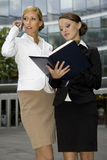 Two businesswomen Stock Photography