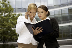 Two businesswomen Royalty Free Stock Photography