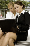 Two businesswomen Stock Photos