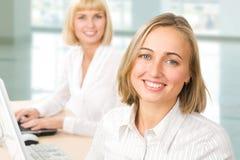 Two businesswomen Stock Image