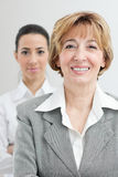 Two businesswomen team Stock Image