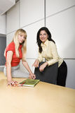 Two businesswomen at work Stock Image