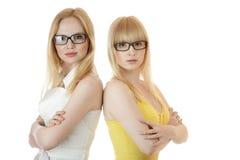 Two busineswomen Royalty Free Stock Photo