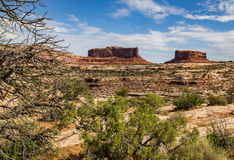 Two Buttes Stock Photography
