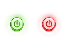 Two button Stock Photography