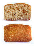 Two cake breads Royalty Free Stock Photos