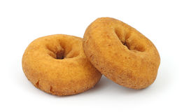 Two cake donuts Royalty Free Stock Images