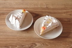Two cake Stock Images
