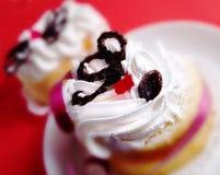Two cakes stock photo