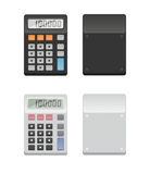 Two Calculators - front and back Stock Images