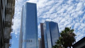 Two California Plaza in Downtown Los Angeles, United States. Two California Plaza LA in Downtown Los Angeles, California, United States stock image