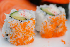 Two California Rolls Royalty Free Stock Photo