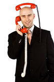 Two Calls Stock Images