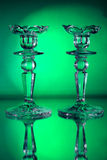Two  candlestick Royalty Free Stock Images