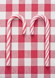 Two Candy Canes Stock Image