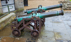 Two cannon Royalty Free Stock Image