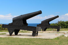 Two cannon Stock Photos