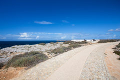 Two cannon in the fort of Sagres Royalty Free Stock Images