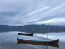Two Canoes Royalty Free Stock Image