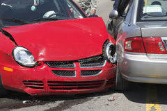 Two car crash 1 Royalty Free Stock Photography
