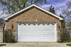Two car garage Stock Photos