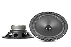 Two car speakers Royalty Free Stock Photography