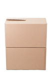 Two cardboard boxes Stock Photos