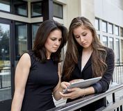 Two Career Women having a Meeting Royalty Free Stock Image
