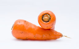 Two Carrot Stock Photo
