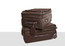 Two carry-on suitcases Royalty Free Stock Images