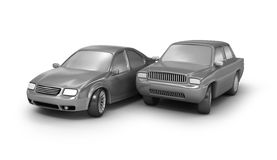 Two cars Stock Image