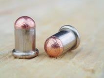 Two cartridge Flaubert Royalty Free Stock Photography