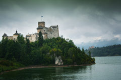 Two castles in Niedzica Stock Images