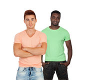 Two casual guys Stock Photography