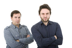 Two casual men Royalty Free Stock Image