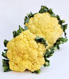 Two cauliflower Royalty Free Stock Images