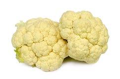 Two cauliflowers Royalty Free Stock Photo