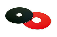 Two CD Royalty Free Stock Photo