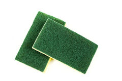 Two cellulose sponges Royalty Free Stock Photography