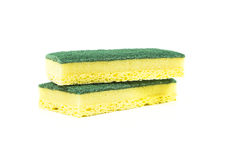 Two cellulose sponges Stock Image