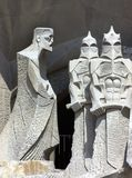 Two centurions. Saint joseph and two centurions royalty free stock photos