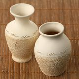 Two ceramic vases Stock Photos