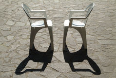 Two chairs Stock Images