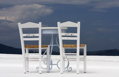 Two chairs Stock Image