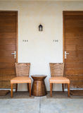 Two chairs Royalty Free Stock Images