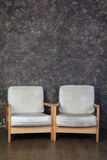 Two chairs in studio of photographer Royalty Free Stock Photography