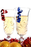 Two Champagne glass Stock Photo